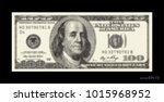 abstract halftone us dollar... | Shutterstock .eps vector #1015968952