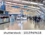 osaka japan nov 30  airline... | Shutterstock . vector #1015969618