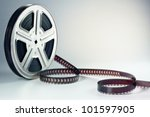 old motion picture film reel | Shutterstock . vector #101597905
