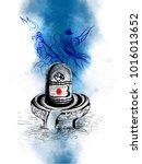 shivratri illustration of lord...   Shutterstock .eps vector #1016013652