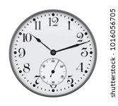 clock. vector illustration... | Shutterstock .eps vector #1016056705