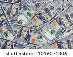 background of money. dollar. a... | Shutterstock . vector #1016071306
