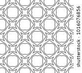 seamless geometric ornamental... | Shutterstock .eps vector #1016076856