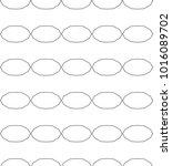 seamless vector pattern in... | Shutterstock .eps vector #1016089702