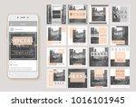 social media banner template.... | Shutterstock .eps vector #1016101945