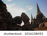 old temple architecture  ... | Shutterstock . vector #1016138452