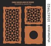 diy laser cutting vector scheme ... | Shutterstock .eps vector #1016175922