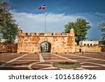 view of ruins of historic... | Shutterstock . vector #1016186926