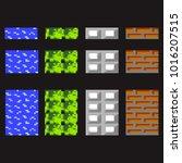 retro pixel art textures  ...