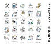 internet and digital marketing... | Shutterstock .eps vector #1016208676