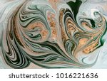 marble abstract acrylic... | Shutterstock . vector #1016221636