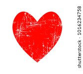 red heart icon for your amazing ... | Shutterstock .eps vector #1016234758