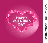 have a happy valentines day. a... | Shutterstock .eps vector #1016249992