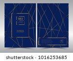 luxury premium menu design... | Shutterstock .eps vector #1016253685