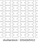 seamless vector pattern in... | Shutterstock .eps vector #1016265412