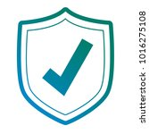 security shield icon | Shutterstock .eps vector #1016275108