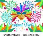 event brazil carnival design on ... | Shutterstock .eps vector #1016281282