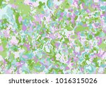 colorful spot background.... | Shutterstock .eps vector #1016315026