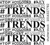 black colors  trends   top  ... | Shutterstock . vector #1016327782