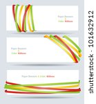ribbon and banner collection.... | Shutterstock .eps vector #101632912