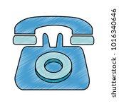 telephone service isolated icon