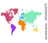 world map vector   Shutterstock .eps vector #1016362675
