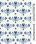 floral seamless pattern in...   Shutterstock .eps vector #1016370076