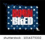 grunge textured illustration of ... | Shutterstock .eps vector #1016375332