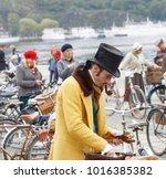 stockholm   sept 23  2017 ... | Shutterstock . vector #1016385382