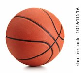 basketball ball over white... | Shutterstock . vector #101641516