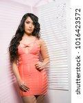 sexy beautiful woman portrait | Shutterstock . vector #1016423572