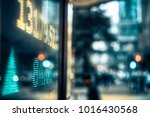financial stock market numbers... | Shutterstock . vector #1016430568