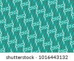abstract green pattern | Shutterstock .eps vector #1016443132