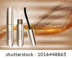 fashion design makeup cosmetics ... | Shutterstock .eps vector #1016448865