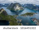 Small photo of Reinebringen, Lofoten. At a modest 448 meters high, Reinebringen is far from one of the highest peaks on the Lofoten islands. Yet this is more than made up for by the iconic view from the summit.