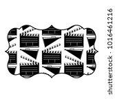 vintage label with movie cinema ...   Shutterstock .eps vector #1016461216