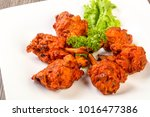 indian traditional cuisine  ... | Shutterstock . vector #1016477386