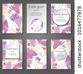 minimal vector covers set.... | Shutterstock .eps vector #1016477878