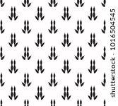 kangaroo footprint seamless... | Shutterstock .eps vector #1016504545