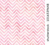 Stock photo baby pink chevron watercolor paper 1016539648