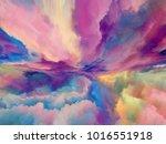 virtual abstract landscape   Shutterstock . vector #1016551918