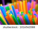 mixed color of straw stick      ...