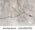 crack of polish concreat floor. | Shutterstock . vector #1016585782