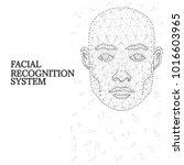 illustration of human face...   Shutterstock .eps vector #1016603965