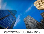 sity sky view | Shutterstock . vector #1016624542