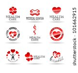 set of medical icons. | Shutterstock .eps vector #101662915