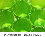 background green plastic glasses | Shutterstock . vector #1016644228