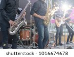 jazz festival. saxophone  music ... | Shutterstock . vector #1016674678