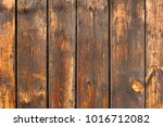 old  weathered planks... | Shutterstock . vector #1016712082