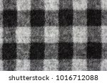 gingham check on soft flannel... | Shutterstock . vector #1016712088